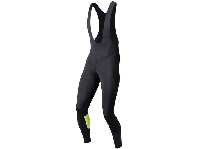PEARL iZUMi Elite Escape AmFIB Culotte largo con tirantes Hombre, black/screaming yellow